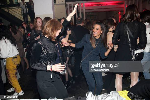 Janina Stopper Amy Mussul during the Bunte New Faces Award Film at Umspannwerk Kreuzberg on May 2 2019 in Berlin Germany