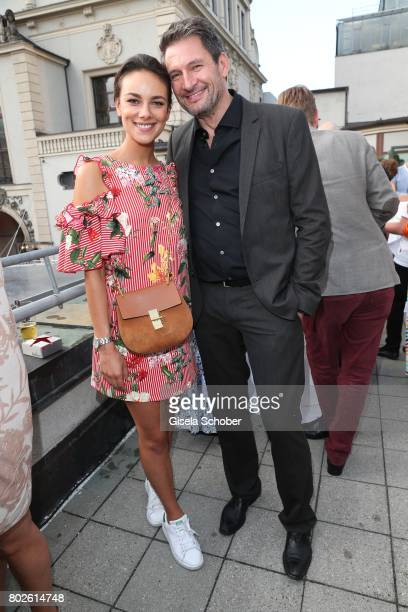 Janina Uhse and Dieter Bach during the Bavaria Film reception during the Munich Film Festival 2017 at Kuenstlerhaus am Lenbachplatz on June 27 2017...