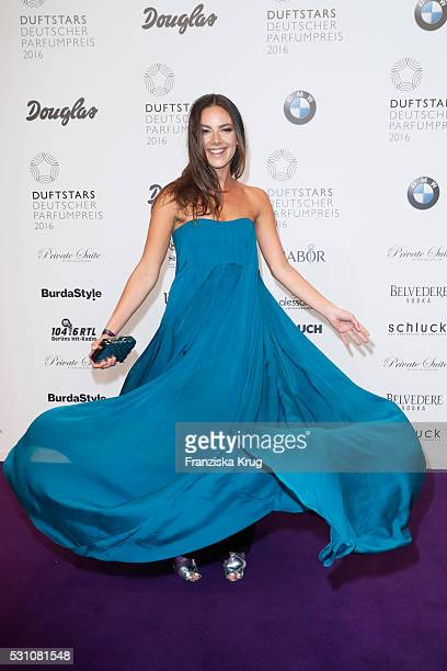 Janina Uhse attends the Douglas at Duftstars at Kraftwerk Mitte on May 12 2016 in Berlin Germany