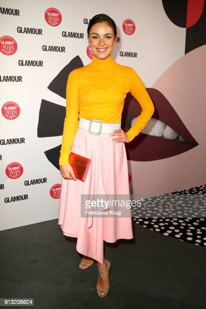 Janina Uhse attends the Glammy Award 2018 on February 1 2018 in Munich Germany