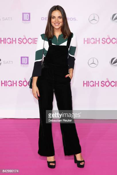 Janina Uhse attends the 'High Society' premiere at CineStar on September 5 2017 in Berlin Germany