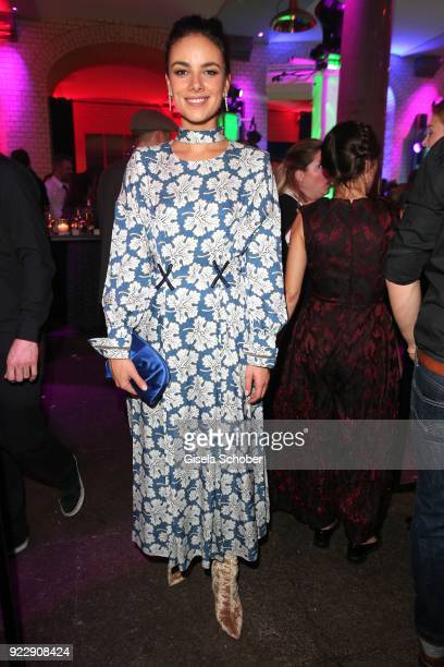 Janina Uhse during the BUNTE BMW Festival Night 2018 on the occasion of the 68th Berlinale International Film Festival Berlin at Restaurant...