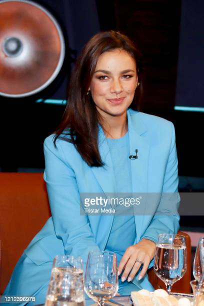 Janina Uhse during the NDR talk show on March 13 2020 in Hamburg Germany