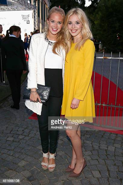 Janina Vilsmaier and Josefina Vilsmaier attend the Shocking Shorts Award 2014 at Amerika Haus on July 3 2014 in Munich Germany