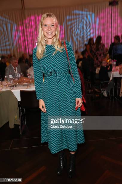 Janina Vilsmaier during the festival night and award ceremony of the 8th Kitzbuehel Film Festival at K3 Congress Center on August 29, 2020 in...