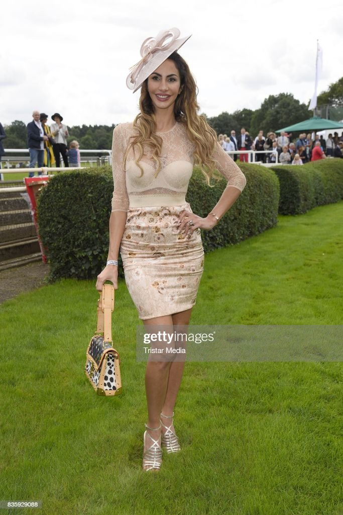 Janina Youssefian during the Audi Ascot Race Day (Renntag) 2017 on August 20, 2017 in Hanover, Germany.