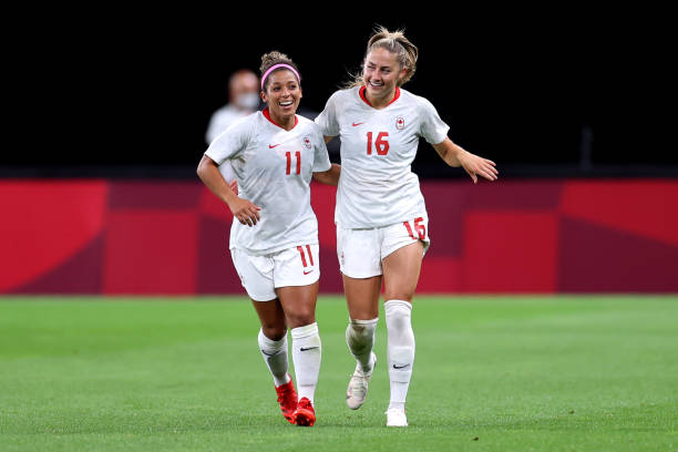 JPN: Chile v Canada: Women's Football - Olympics: Day 1
