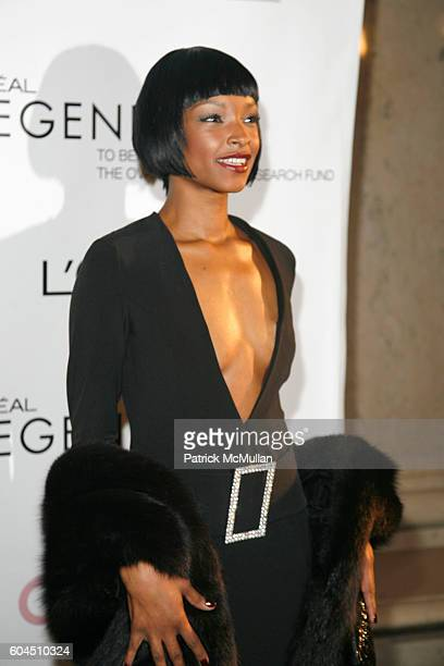 Janine Green attends L'OREAL Legends Gala Benefiting The Ovarian Cancer Research Fund at The American Museum Of Natural History on November 8 2006