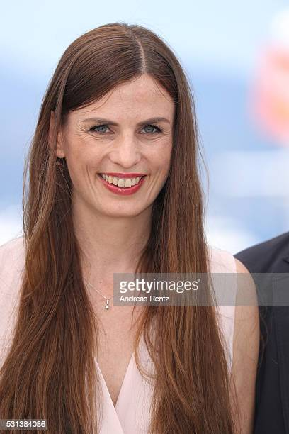 """Janine Jackowski attends the """"Toni Erdmann"""" photocall during the 69th annual Cannes Film Festival at the Palais des Festivals on May 14, 2016 in..."""