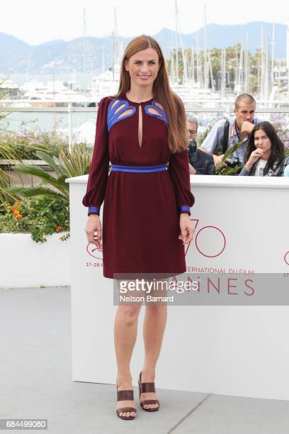 """Janine Jackowski attends """"Western"""" Photocall during the 70th annual Cannes Film Festival at Palais des Festivals on May 18, 2017 in Cannes, France."""