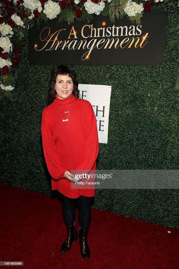 A Christmas Arrangement.Janine Jarman Attends A Christmas Arrangement Los Angeles