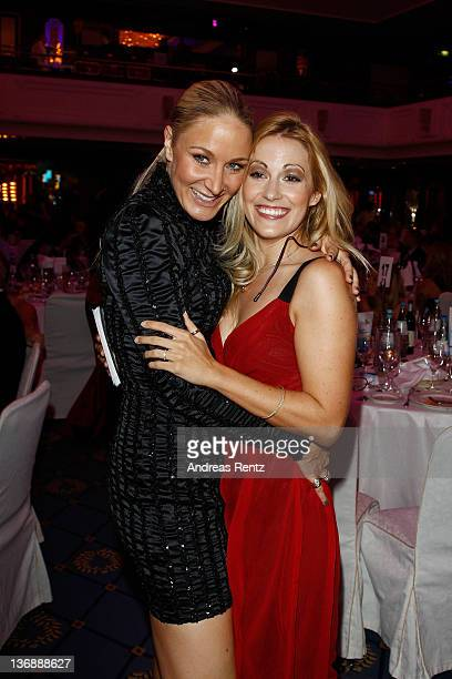 Janine Kunze and Andrea Kaiser attend the New You Achievement Award ceremony at Maritim Hotel on January 12 2012 in Berlin Germany