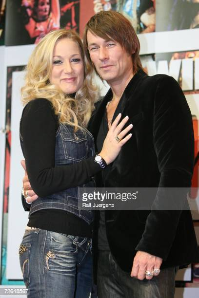 Janine Kunze and Dirk Budach attend the ''We Will Rock You'' Charity Show on November 26 2006 in Cologne Germany