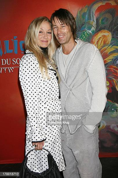 Janine Kunze And Husband Dirk Budach at Dralion premiere from Cirque Du Soleil In Berlin On 300806