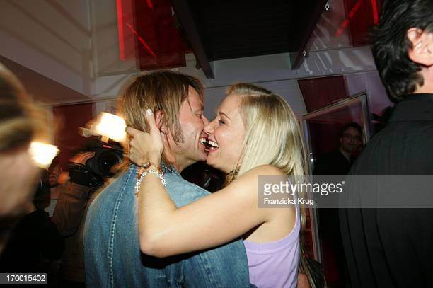 Janine Kunze and husband Dirk Budach At The Party to Germany premiere of Deuce Bigalow European Gigolo In the TCom Showhouse In Leipziger Strasse in...