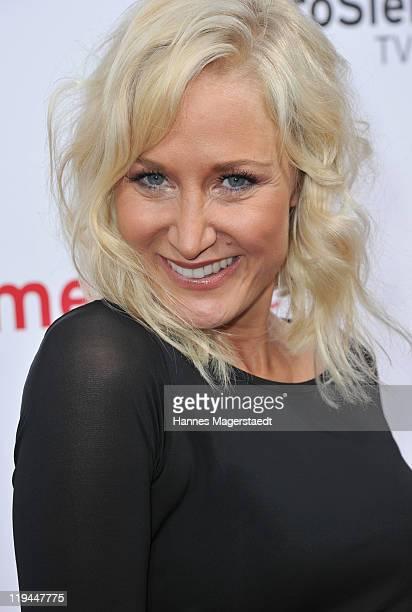 Janine Kunze attend the ProSiebenSat 1 Summertime at Alte Kongresshalle on July 20 2011 in Munich Germany