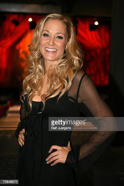 Janine Kunze attends the ''We Will Rock You'' Charity Show on November 26 2006 in Cologne Germany