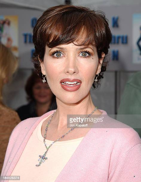 Janine Turner during Ice Princess Los Angeles Premiere Arrivals at El Capitan Theater in Hollywood California United States