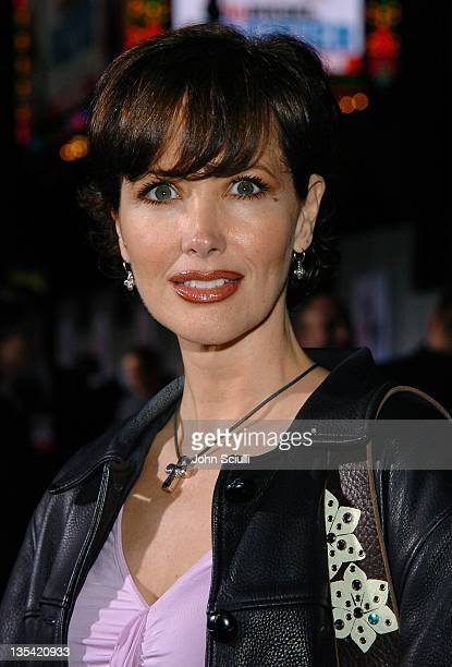 Janine Turner during The Pacifier Los Angeles Premiere Red Carpet at El Capitan in Hollywood California United States