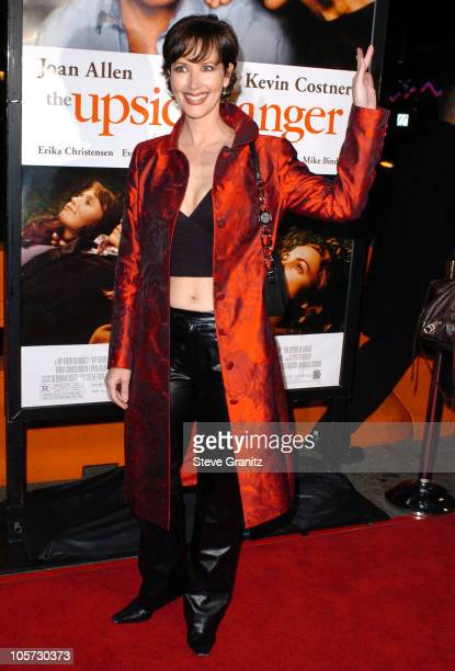 Janine Turner during The Upside of Anger Los Angeles Premiere Arrivals at The National in Westwood California United States