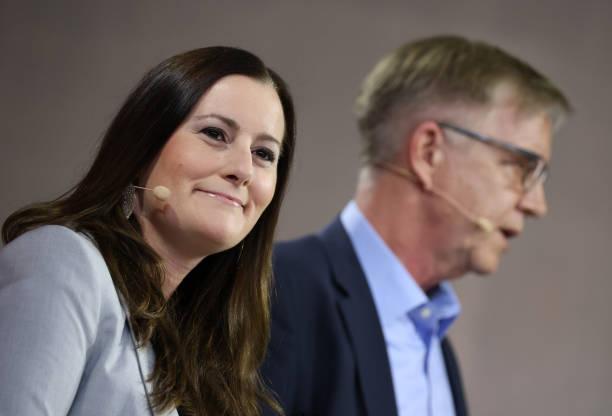 DEU: Die Linke Present Elections Lead Candidates