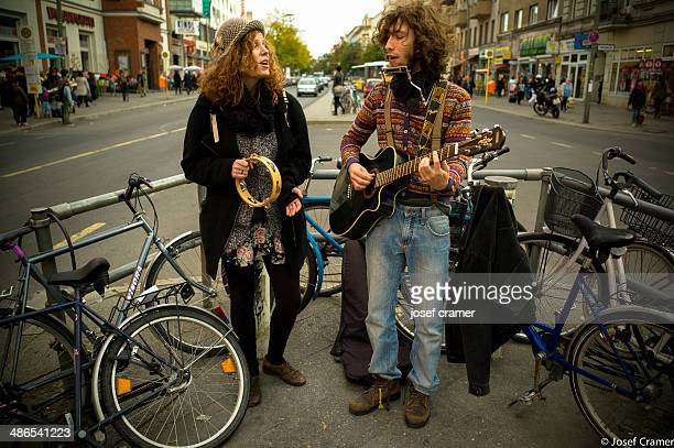 janis and bob - tambourine stock photos and pictures