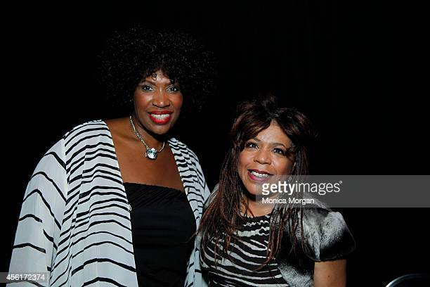 Janis Hazel and Valerie Simpson pose during the 2014 Congressional Black Caucus Jazz Concert at Walter E Washington Convention Center on September 25...