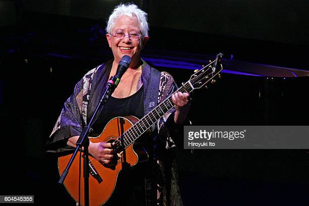 Janis Ian performing at the Appel Room as part of Lincoln Center's American Songbook on Friday night February 5 2016