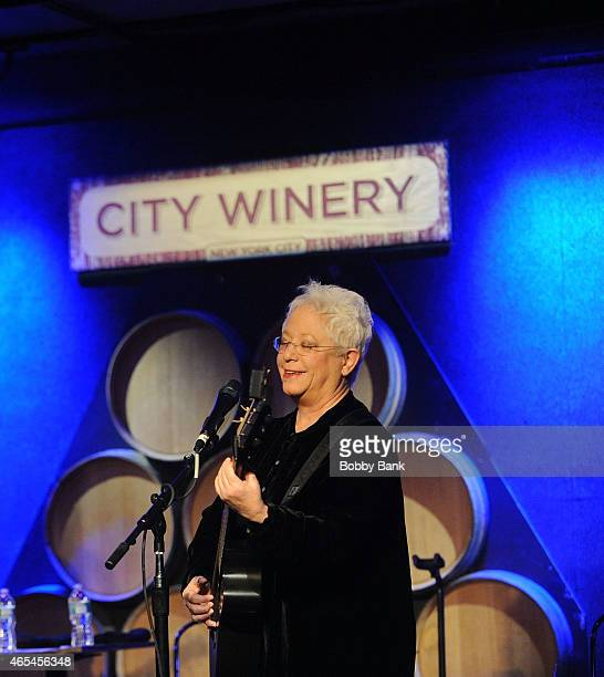 Janis Ian performs at City Winery on March 6 2015 in New York City