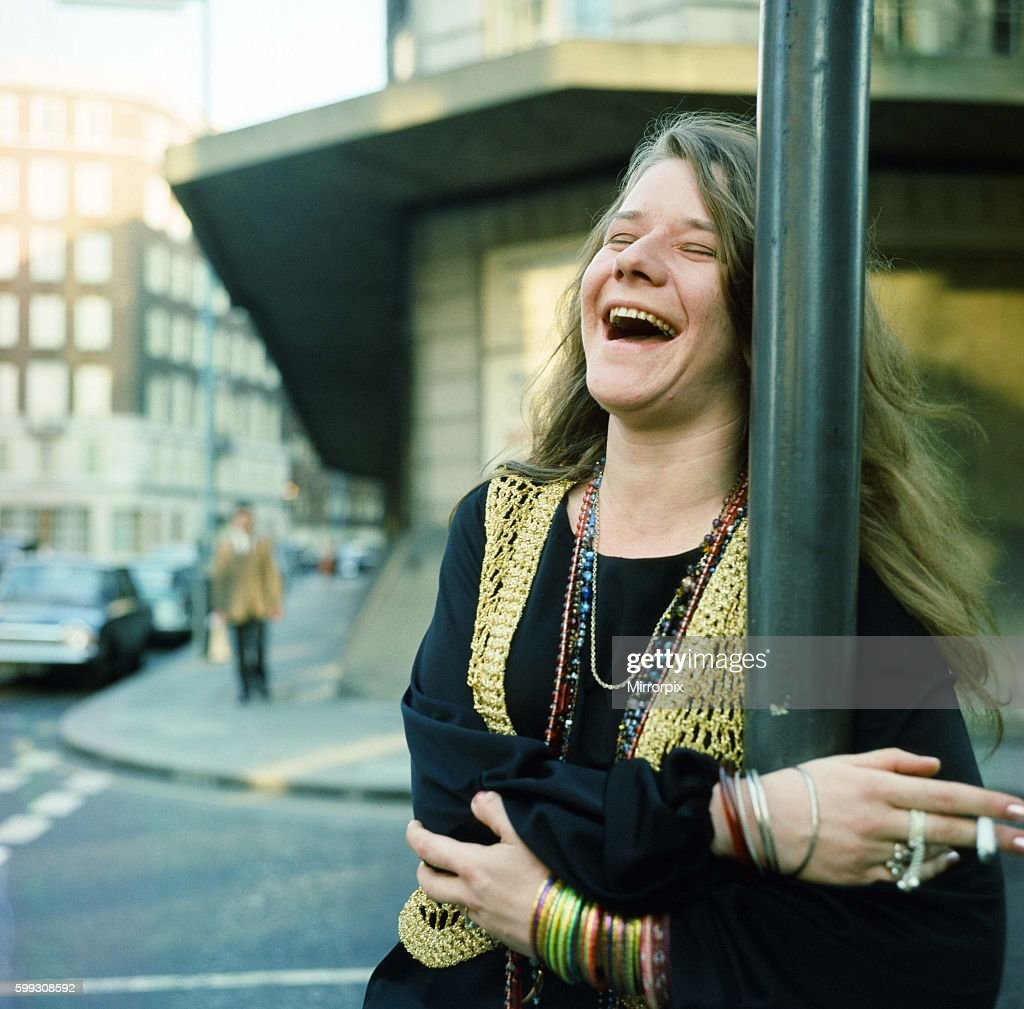 Janis Joplin in London. April 1969.