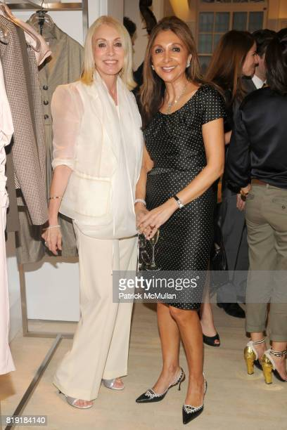 Janis Kaye and Miriam Azram attend DIOR HARPER'S BAZAAR Host Cocktails to Preview FALL 2010 Collection at Dior on July 14th 2010 in New York City