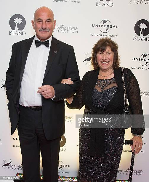 Janis Seaton Amy's Mother attends the Amy Winehouse Foundation Gala Red Carpet at The Savoy Hotel on October 15 2015 in London England