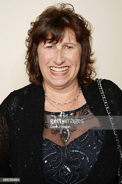 Janis Seaton attends the Amy Winehouse Foundation Gala at The Savoy Hotel on October 15 2015 in London England