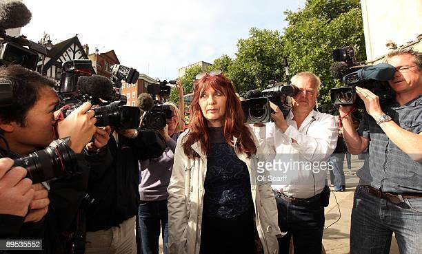 Janis Sharp the mother of British hacker Gary McKinnon arrives at the High Court bid to avoid her son's extradition to the United States on July 31...