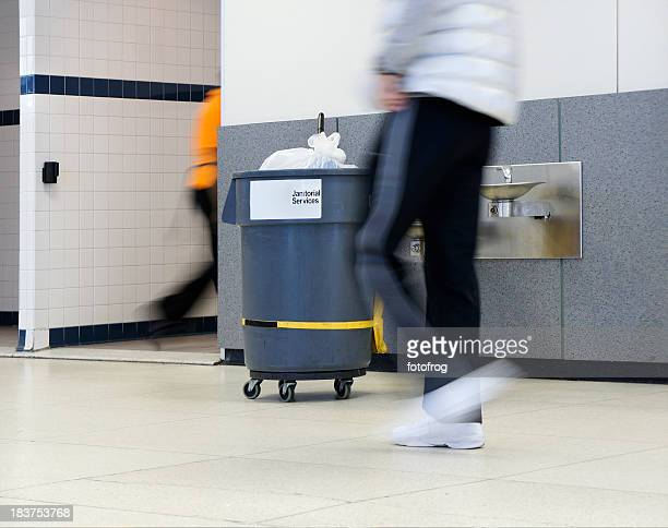 janitorial sevices - commercial cleaning stock photos and pictures