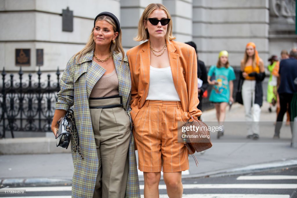 Street Style - New York Fashion Week September 2019 - Day 4 : Photo d'actualité