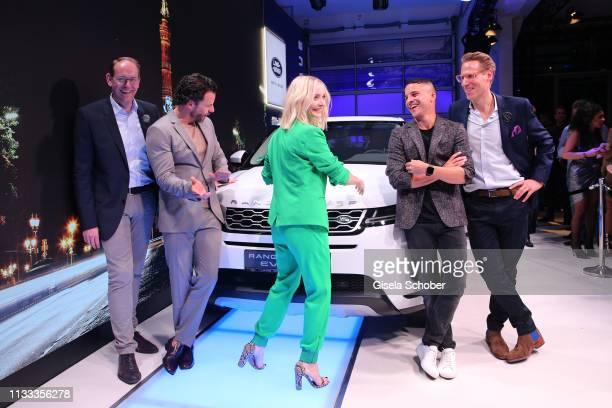 JanKas van der Stelt Managing Director Jaguar Land Rover Germany Stephan Luca Janin Ullmann Kostja Ullmann Christian Loeer Marketing Director Jaguar...