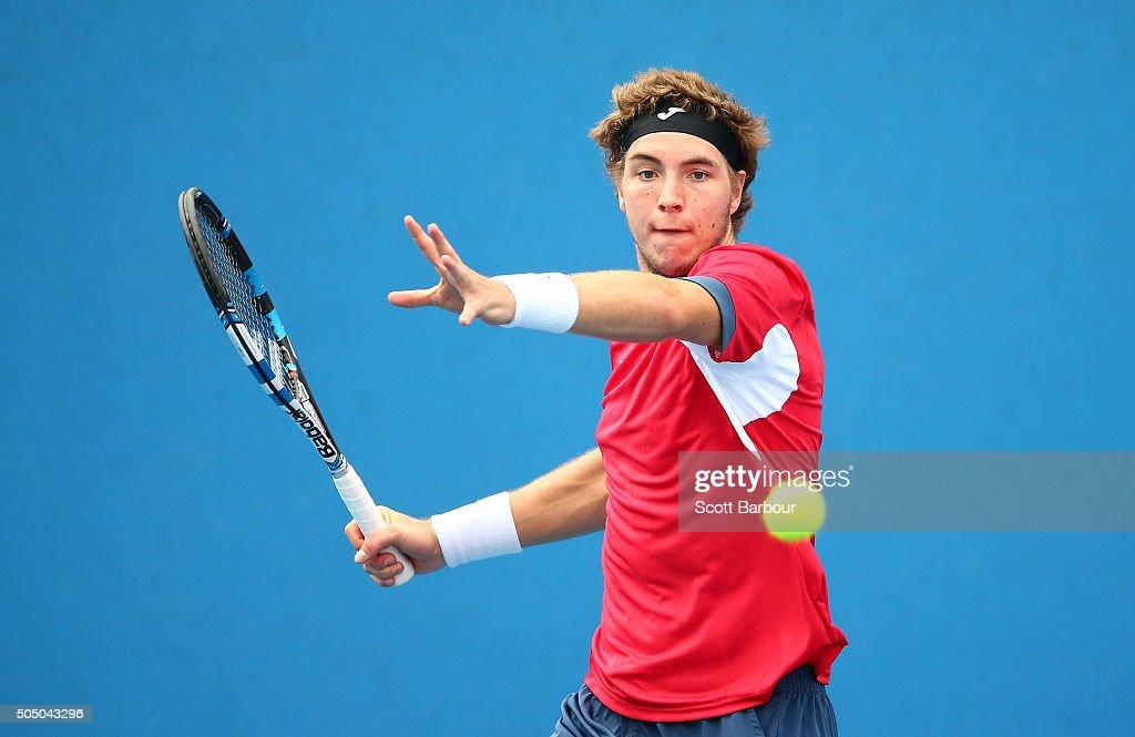 2016 Australian Open - Qualifying : News Photo