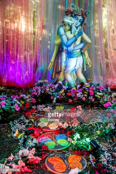 Janmashtami festival at Bhaktivedanta Manor, Watford, U.K.
