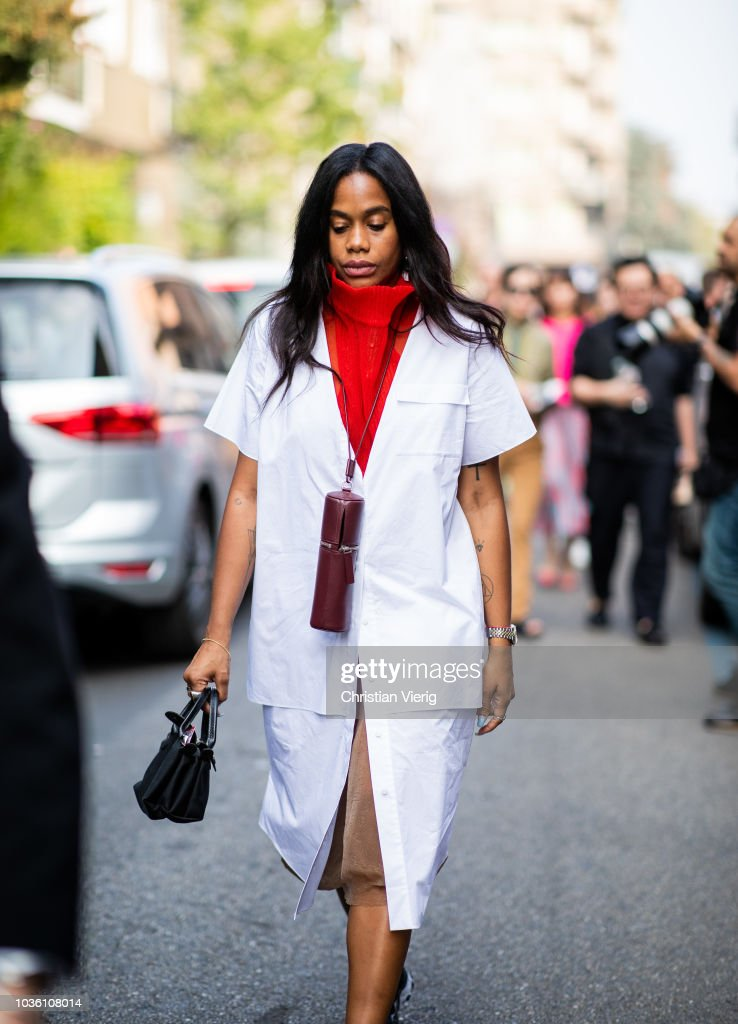 Street Style: September 19 - Milan Fashion Week Spring/Summer 2019