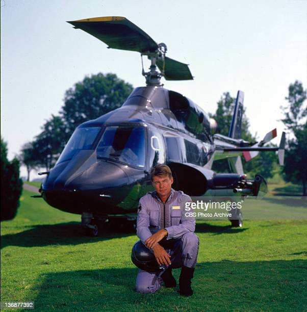 JanMichael Vincent plays Stringfellow Hawke on AIRWOLF