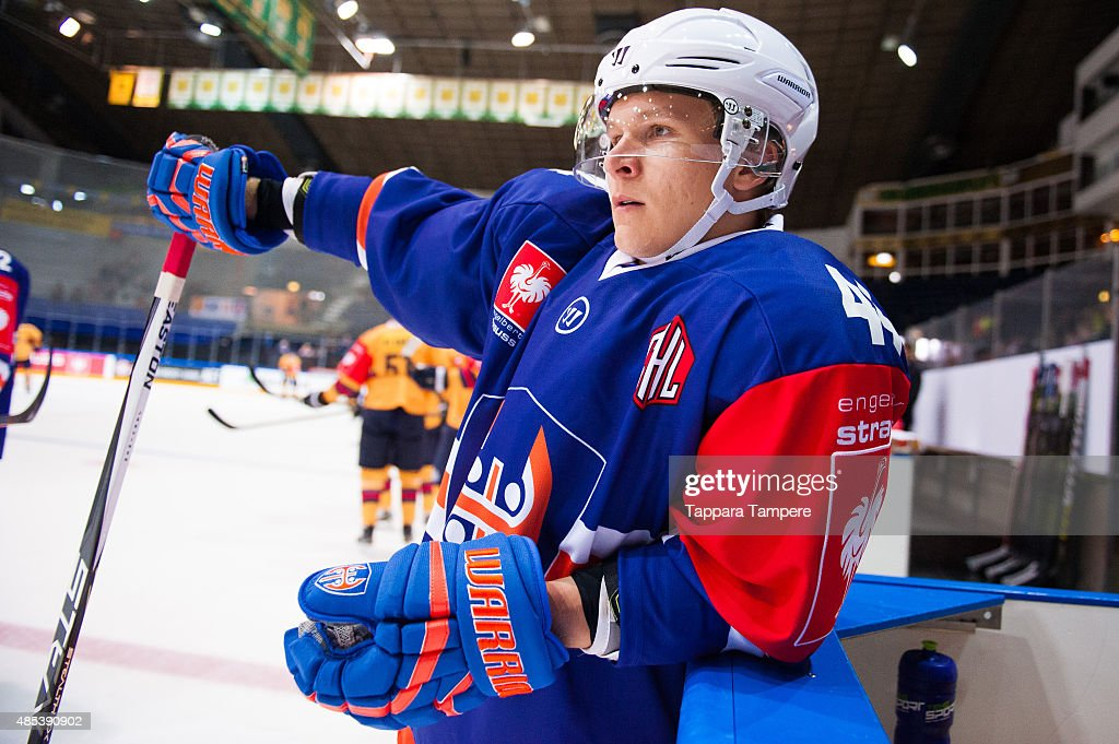 Tappara Tampere v Djurgarden Stockholm - Champions Hockey League : News Photo