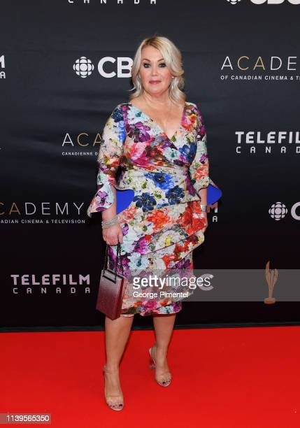 Jann Arden attends the 2019 Canadian Screen Awards Broadcast Gala at Sony Centre for the Performing Arts on March 31 2019 in Toronto Canada