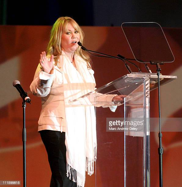 Jann Arden during 2005 Juno Gala Dinner and Awards Show April 2 2005 at Winnipeg Convention Centre in Winnipeg Manitoba Canada