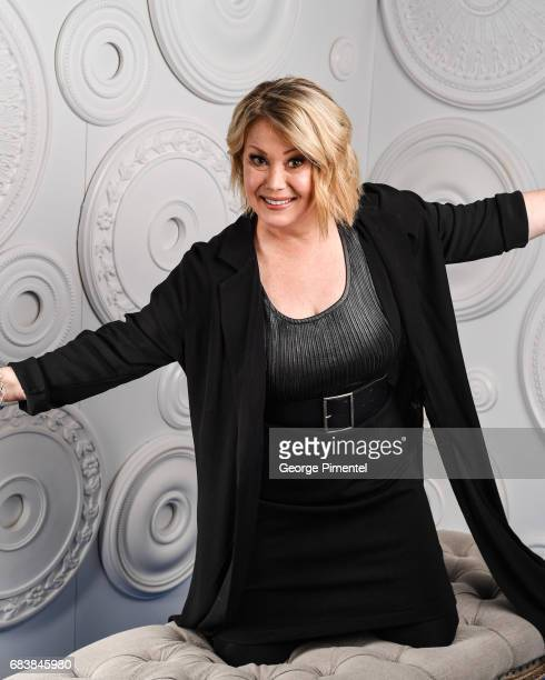 Jann Arden poses in the ETalk Portrait Studio at the 2017 Canadian Screen Awards at the Sony Centre For Performing Arts on March 12 2017 in Toronto...