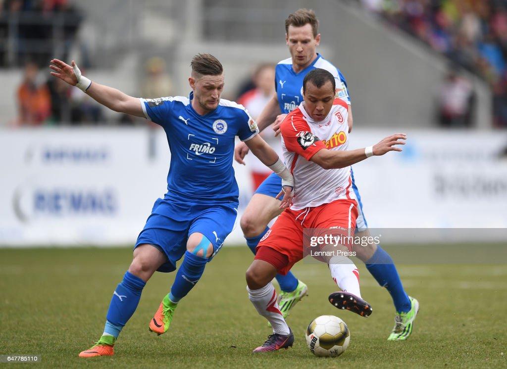 Jahn Regensburg v Sportfreunde Lotte - 3. Liga