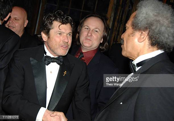 Jann Wenner and Allen Toussaint during 21st Annual Rock and Roll Hall of Fame Induction Ceremony - Cocktails and Dinner at Waldorf Astoria Hotel in...