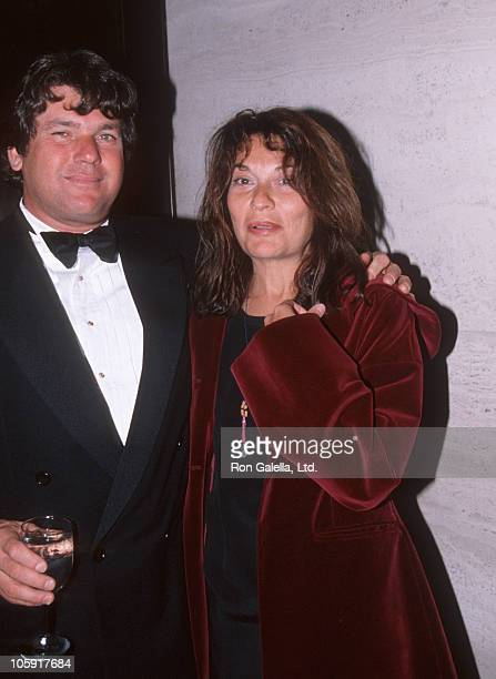 Jann Wenner and Jane Wenner during People for American Way Benefit Gala November 16 1989 at Seagram Plaza in New York City New York United States