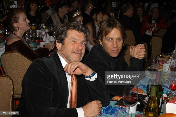 Jann Wenner and Matt Nye attend Bette Midler's New York Restoration Project HULAWEEN Gala and Midlers 60th Birthday Celebration at Waldorf Astoria...