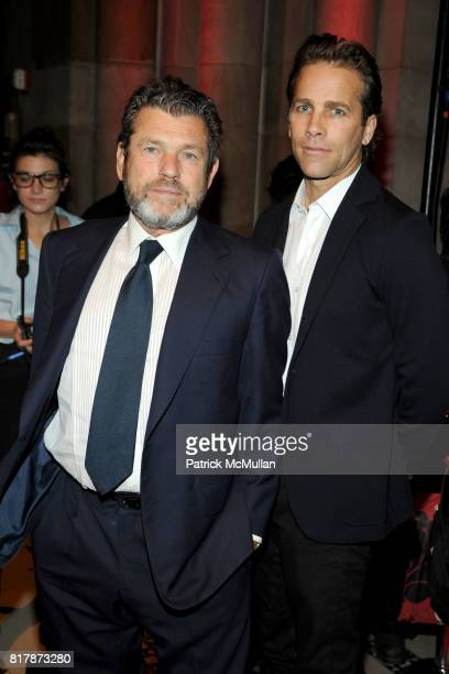 Jann Wenner and Matt Nye attend NEW YORKERS FOR CHILDREN 2010 Fall Gala at Cipriani 42nd on September 21 2010 in New York City